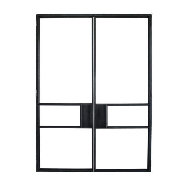 steel framed doors and glass windows - form and alloy - callisto