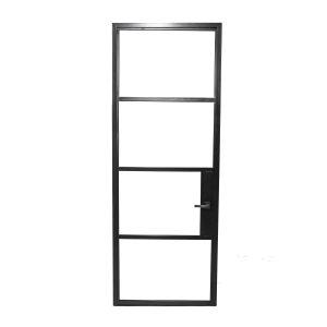 steel framed doors and glass windows - form and alloy - elara